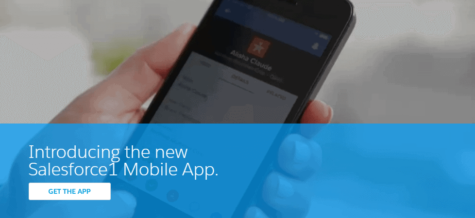 Salesforce-mobile-apps