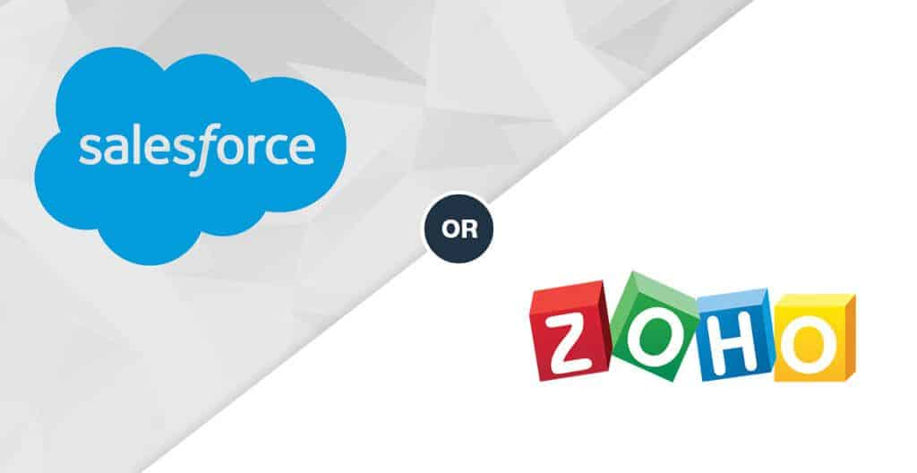 Salesforce or Zoho - Which is the Best CRM for Small Business in 2019?