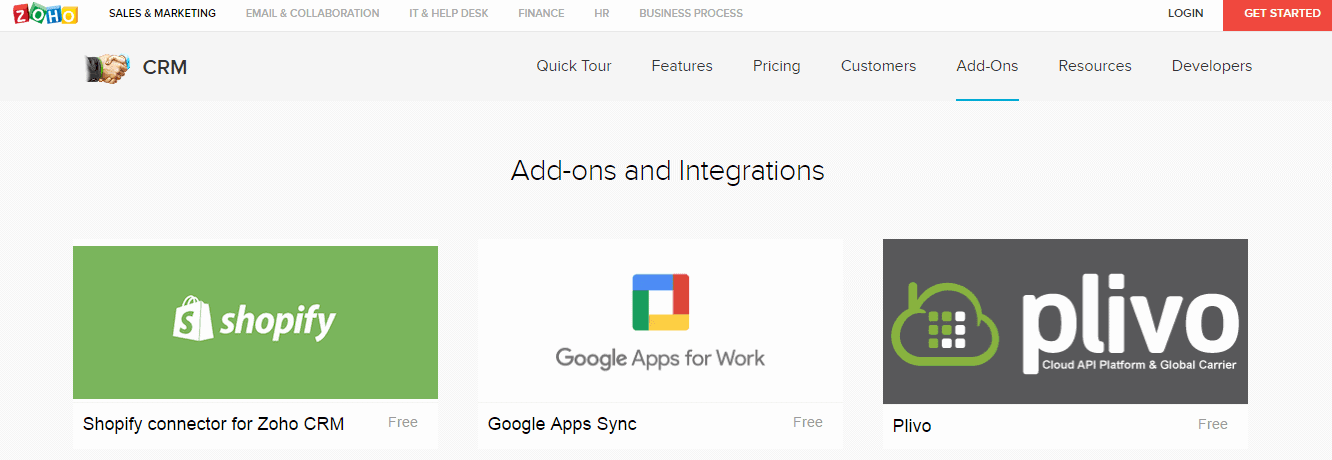 Third-party-Integrations-Zoho-CRM