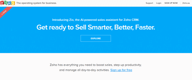 Zoho-CRM-System