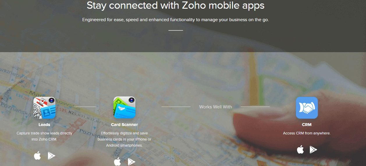 Zoho-mobile-apps